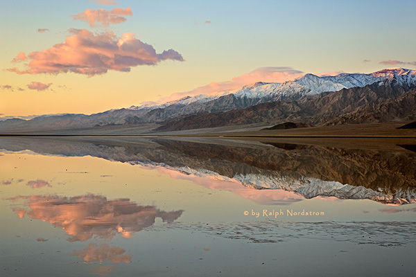 Death Valley Reflections, Death Valley National Park, California