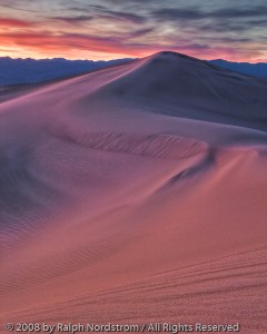 Mesquite Dunes Twilight