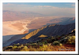 Danet's View, Death Valley