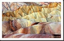Death Valley Zabriskie Point Sunrise Tapestry 2 b