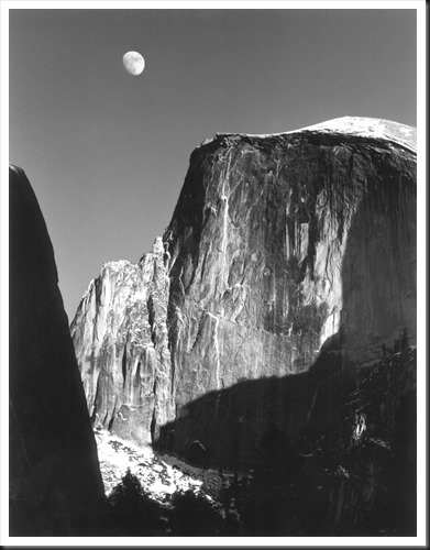 Adams-moon-and-half-dome-1960